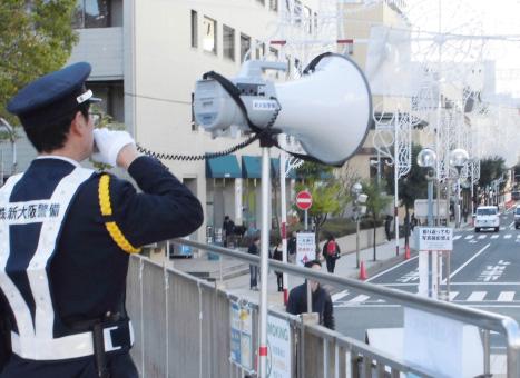 イベント警備業務写真1