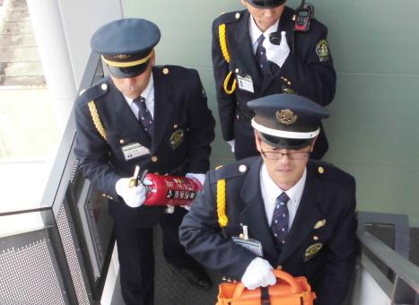 施設警備業務写真1