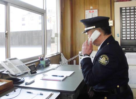 施設警備業務写真3