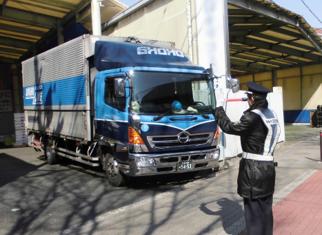 交通誘導警備業務写真1